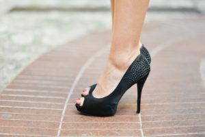 are high heels bad for your back? saratoga spine