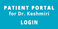Patient Portal for Dr. Keshmiri