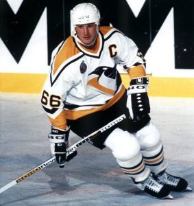 Mario Lemieux, Professional Hockey Player
